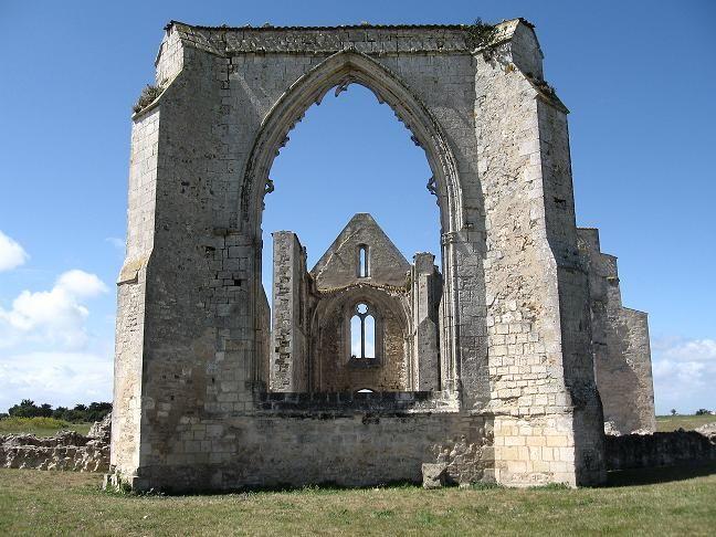 Abbaye des Châteliers île de Ré