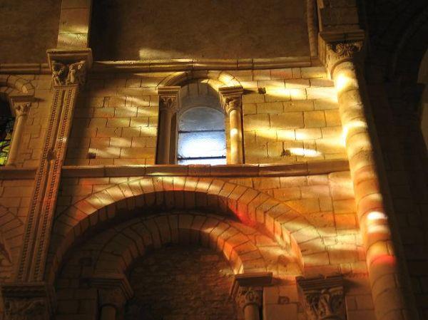 Baignée de lumière