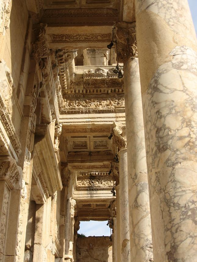 bibliothèque de Celsius Ephèse Turquie façade