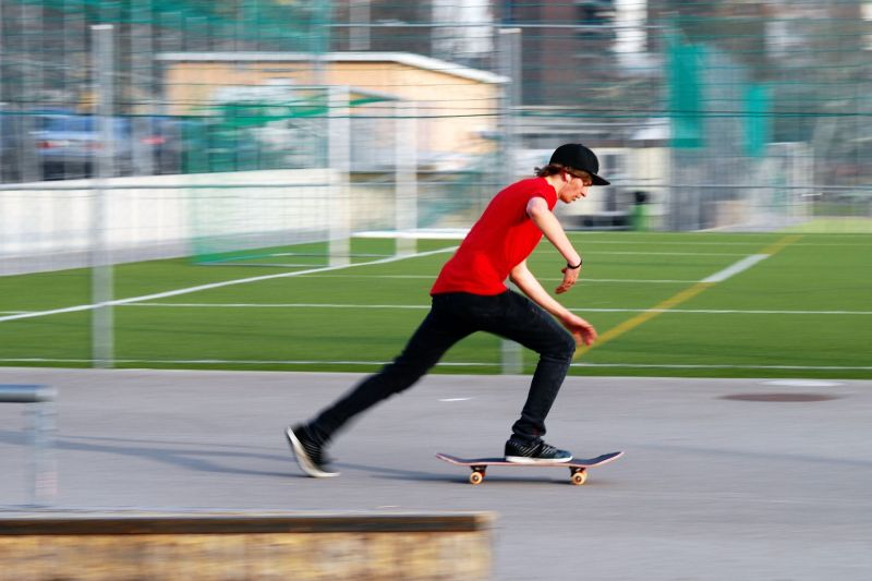Taken on Lugano skatepark