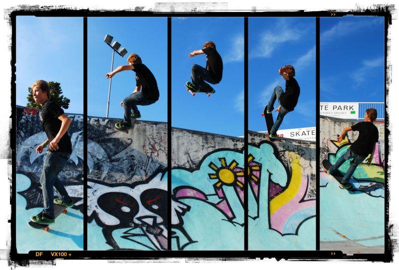 Martino at Lugano Skatepark