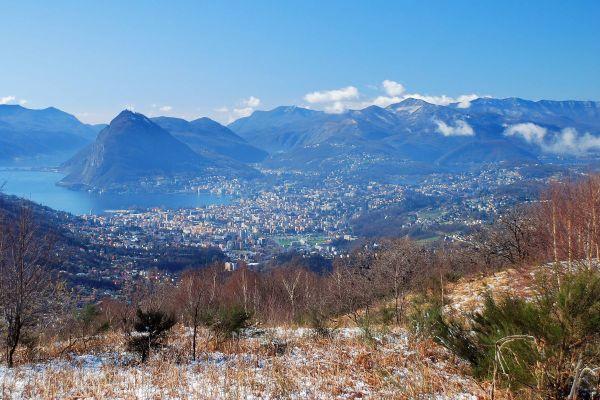 Lugano From Madonna D'arla