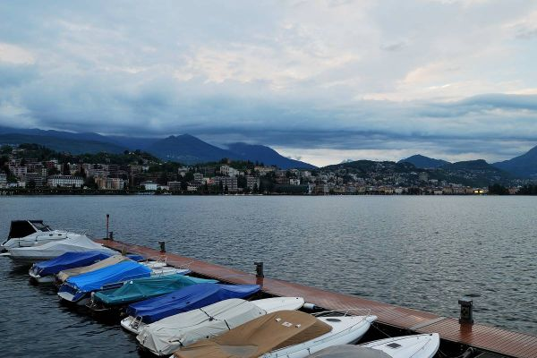 Another rainy day in Lugano