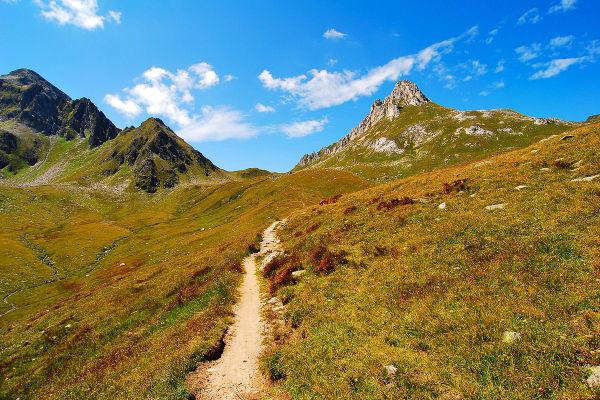 Trail to Passo del Sole