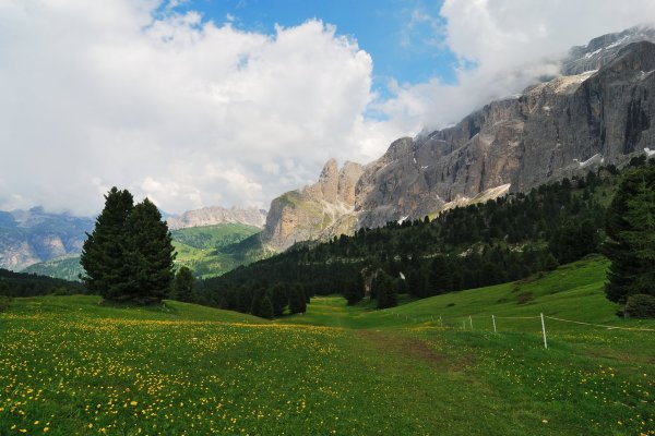 Trail to Selva Gardena