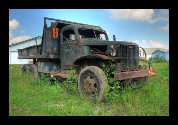 Once a War Wagon  (HDR)