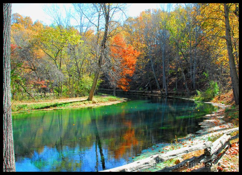 Autumn At Meremac Springs (HDR)