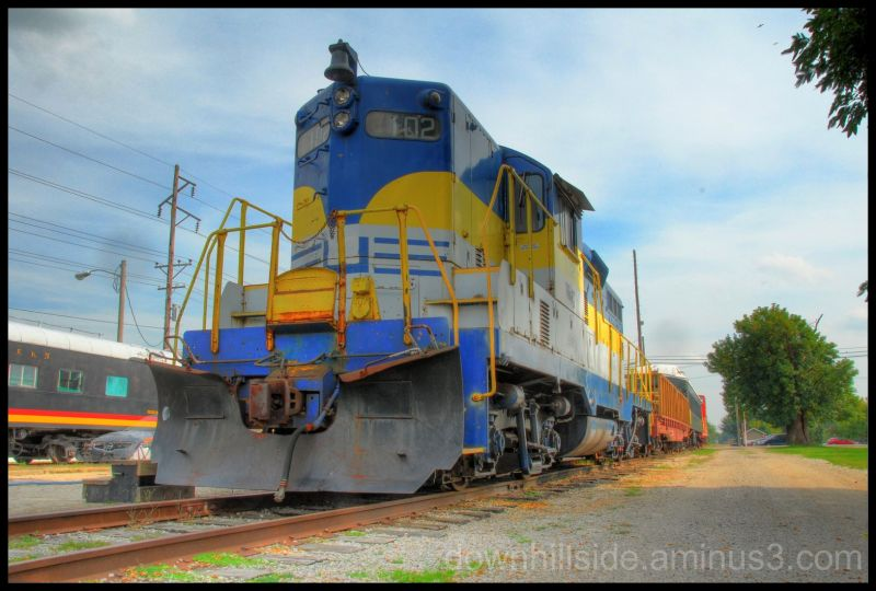 Retired Diesel Locomotive  (HDR)