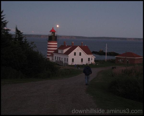 Twilight at Quoddy Head
