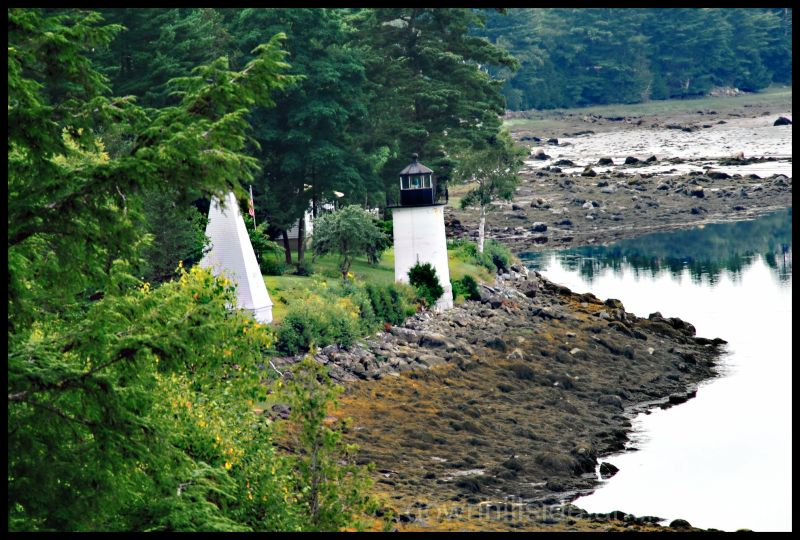Whitlock Mills Light on the St. Lawrence River HDR