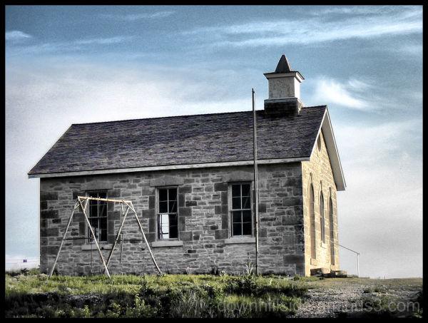 Schoolhouse on the Prairie  (HDR)