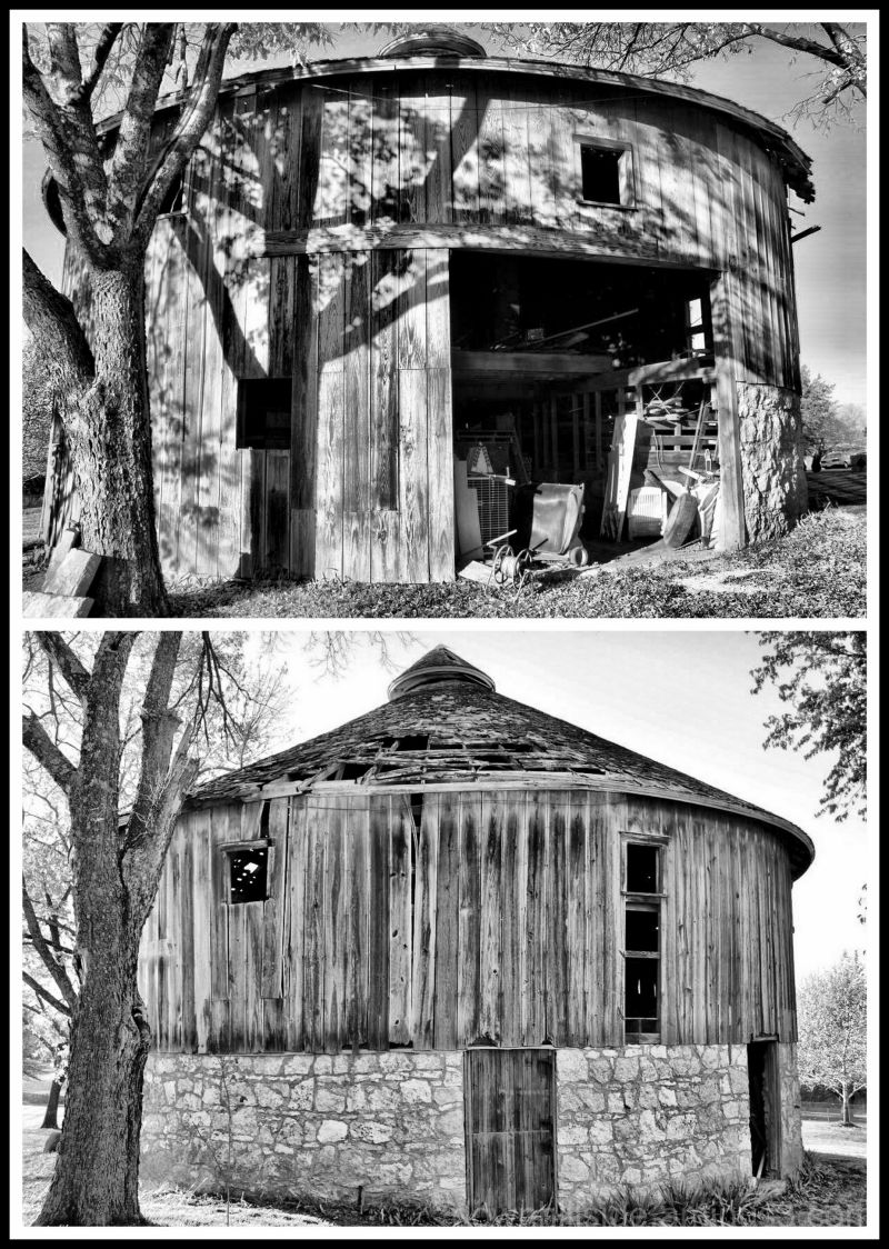 Round Barn near Stillwell, Kansas