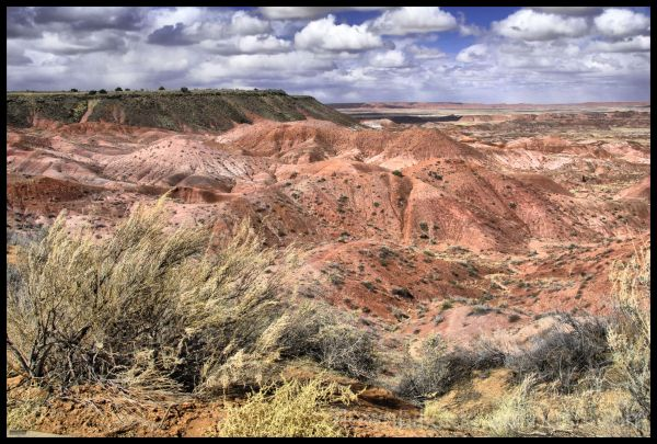 Painted Desert 2, Arizona  (HDR)