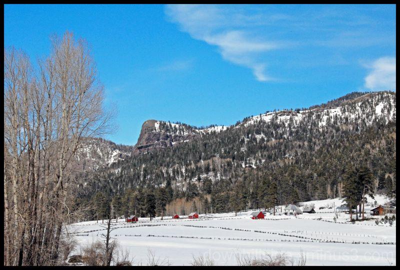 Colorado Ranch in March