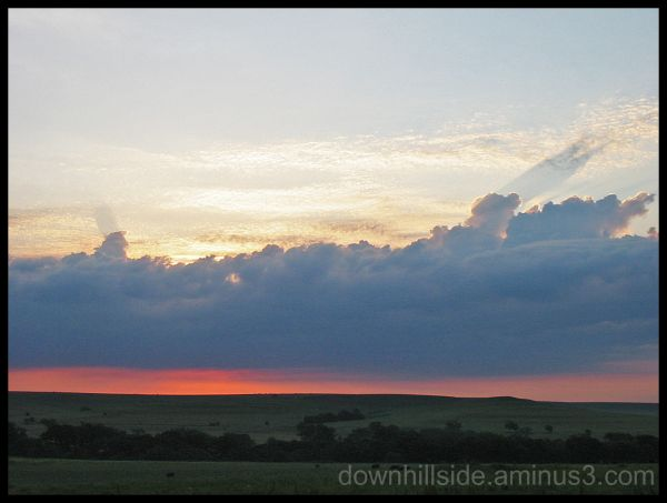 Sunrise in the Flint Hills!