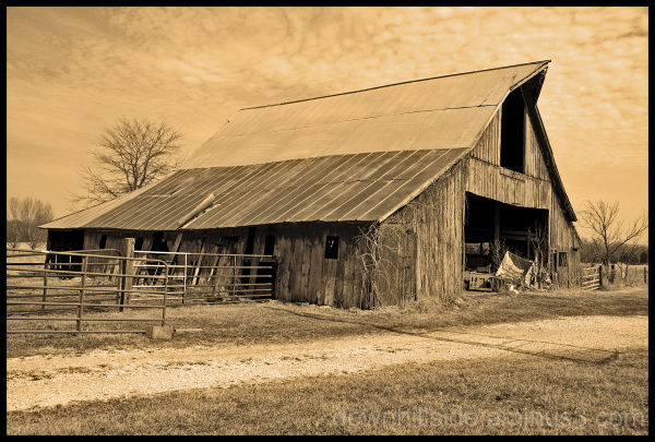 The Old Stark Barn
