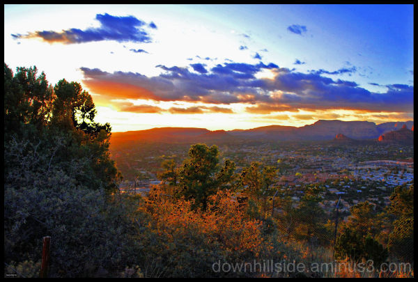 Sunset from Airport Mesa - Sedona