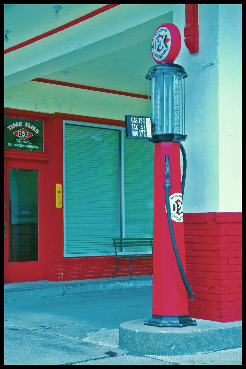 Vintage Gas Pump - Circa 1930's