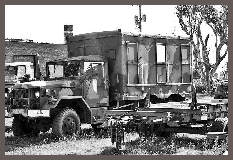 Vintage Army Vehicle