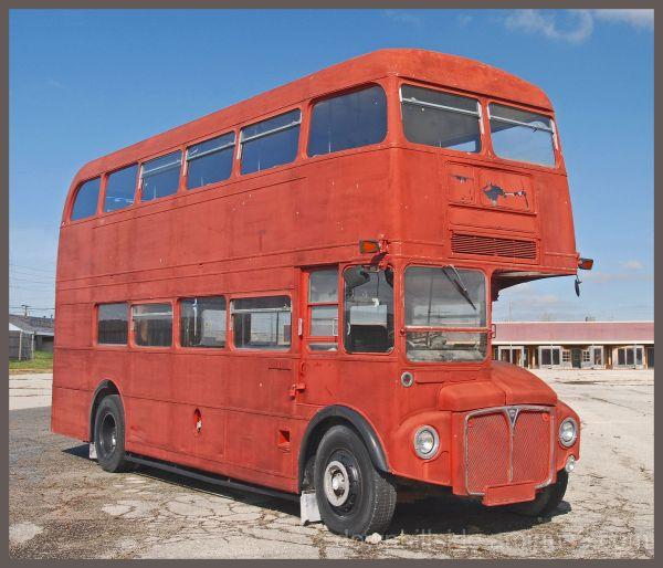 Antique Double Decker Bus