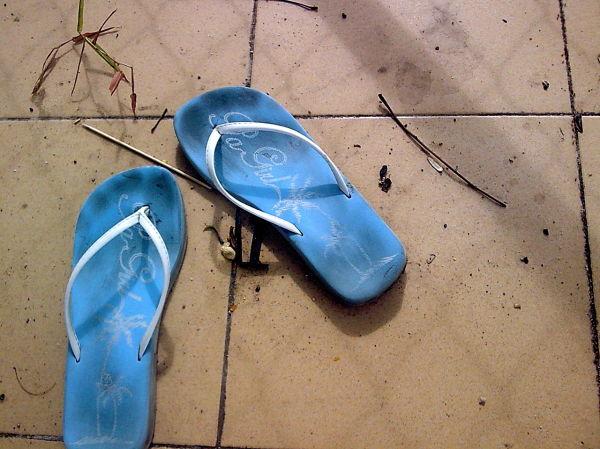 Flip Flops in Summer