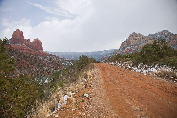 Schnebly Hill Road Sedona Arizona