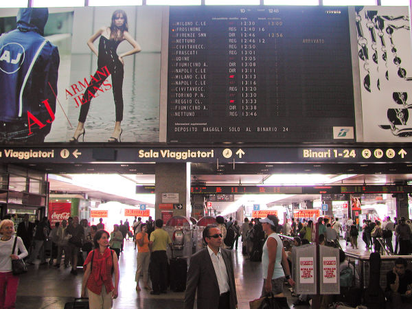 Rome Train Station