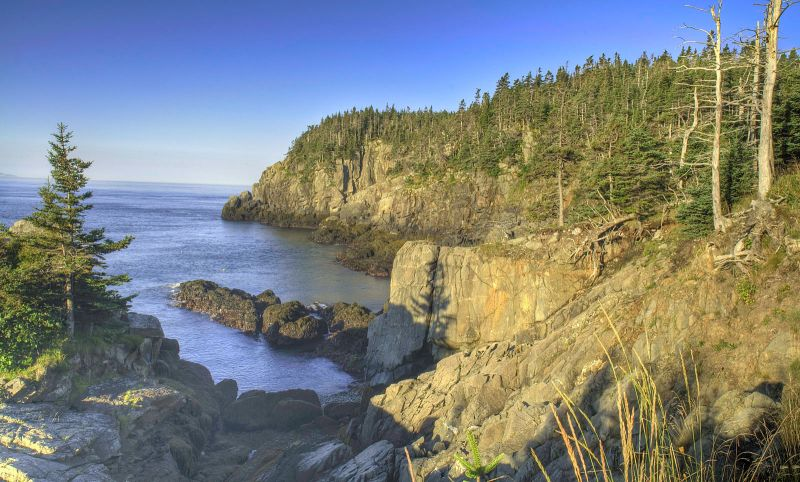 West Quoddy State Park HDR