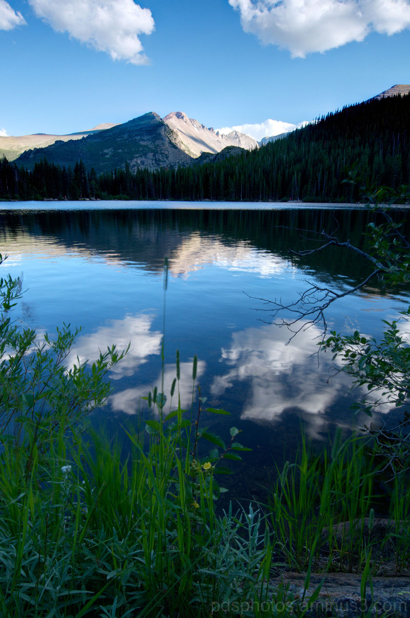 Bear Lake and Longs Peak 1