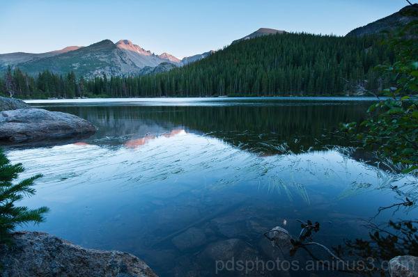 Bear Lake and Longs Peak 3