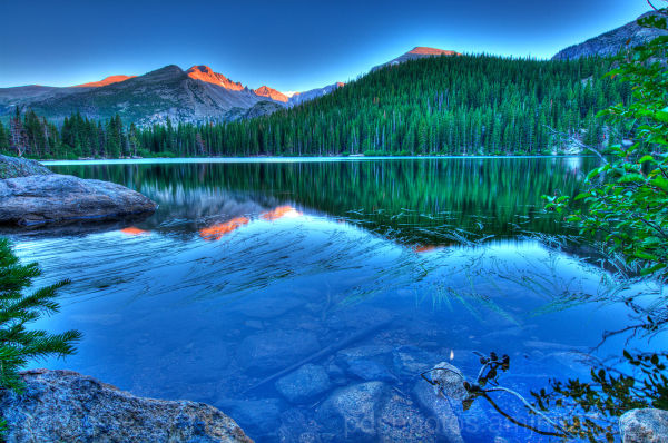 Bear Lake and Longs Peak 4
