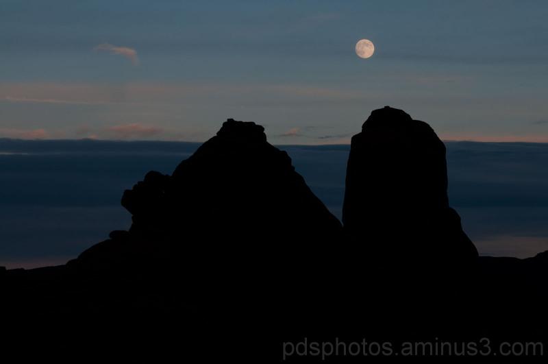 Moonrise Utah