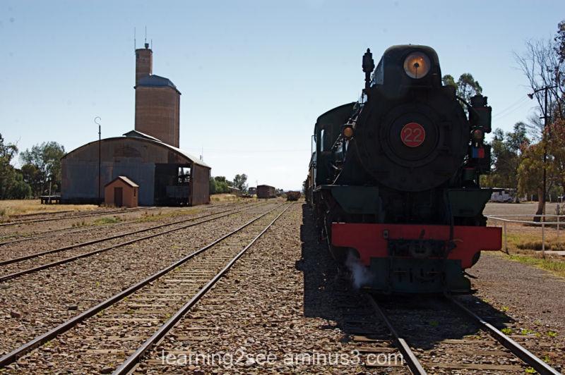 Pichi Richi train at Quorn railway station