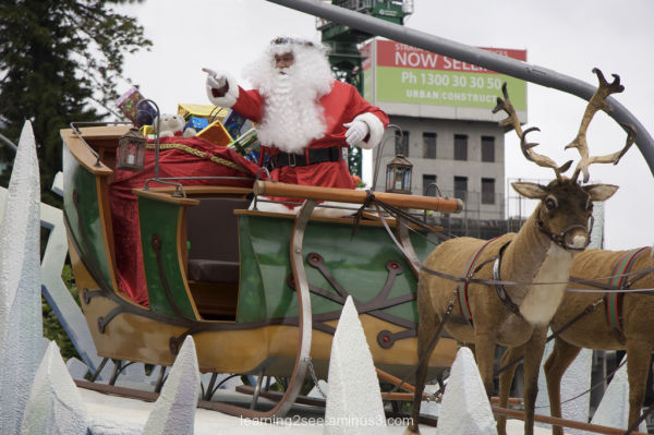 Father Christmas, Adelaide Christmas Pageant