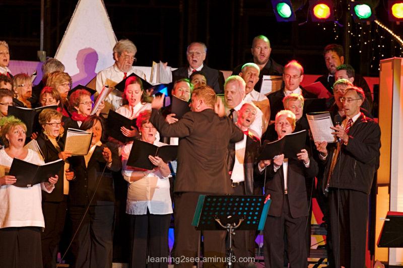 Choral Director CarolsAlive2008