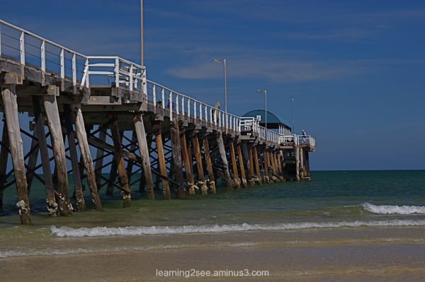 Jetty at Henley Beach, Adelaide, South Australia