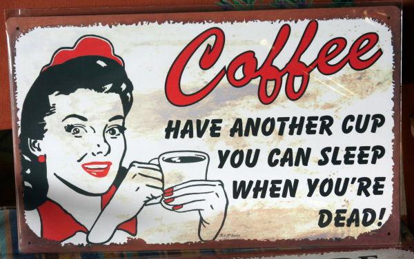 oh yea...Coffee
