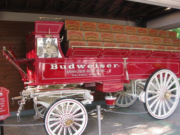 Budweiser Wagon