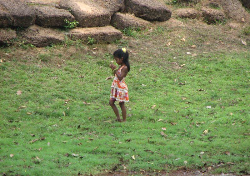 Innocence girl Cambodia