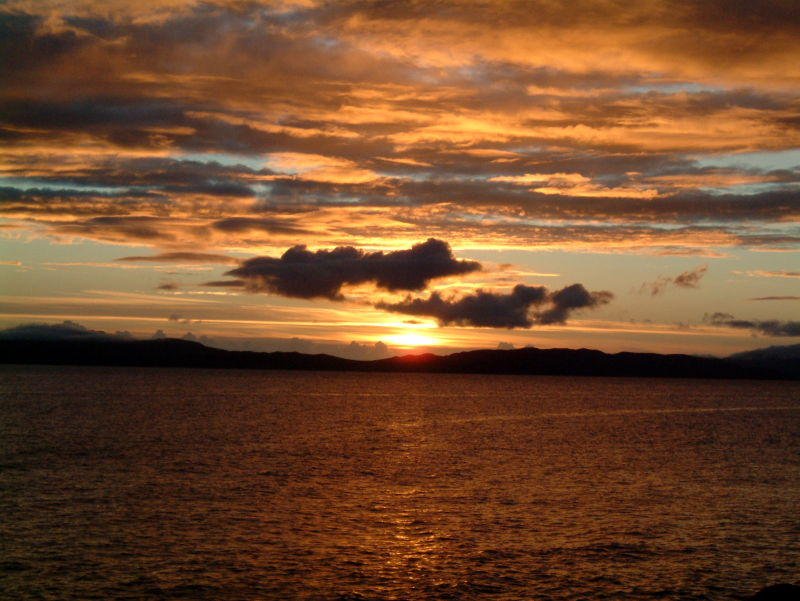 Sunset Tarbert
