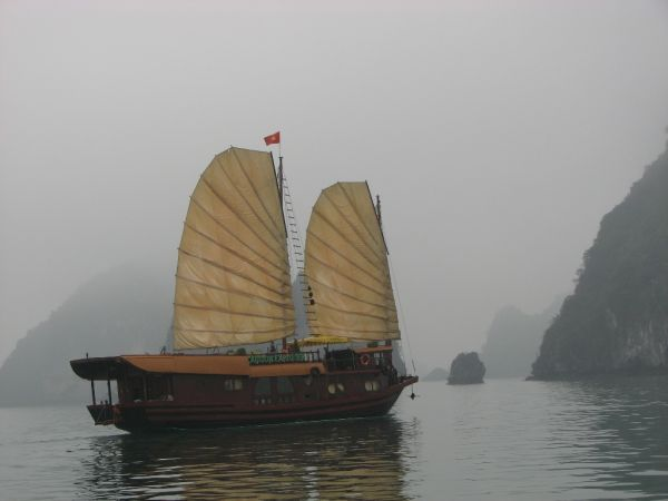 Junks in the Mist
