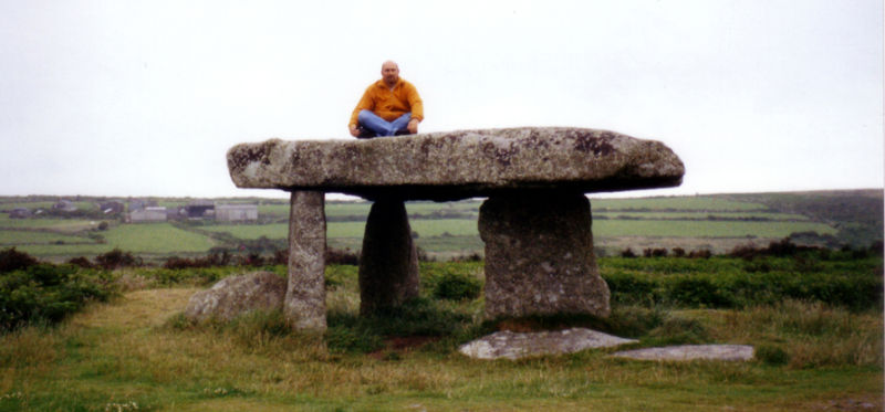 Lanyon Quoit in Cornwall