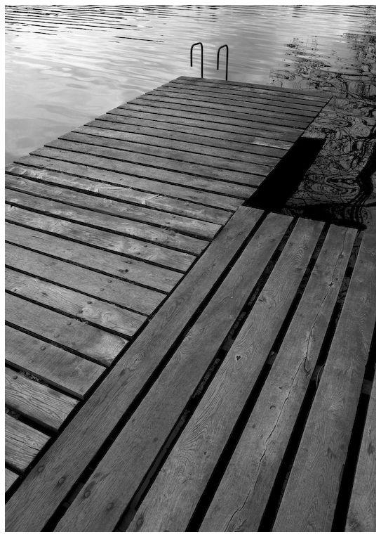Sur les bords du lac des Settons