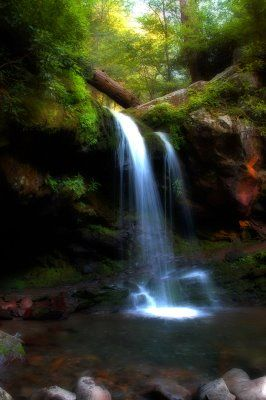 Grotto Falls,Smoky Mountains,Tennessee