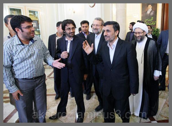 من و دکتر احمدی نژاد