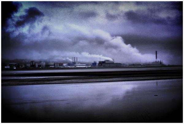 Heavy Industry along Runcorn Docks
