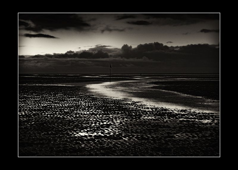 Southport Beach at Sunset