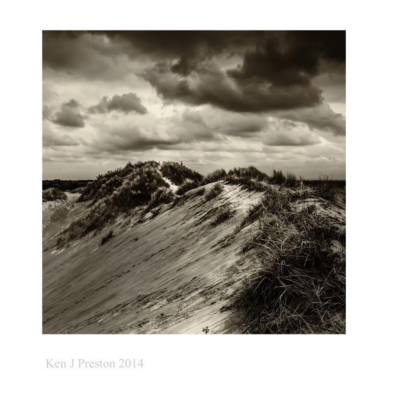 Formby sand dunes