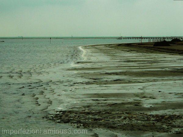 Empty shore
