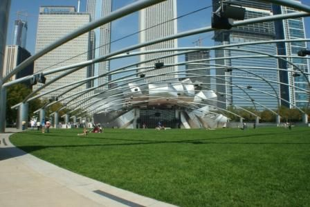 Chicago Millenium Park-Jay Pritzker Pavilion